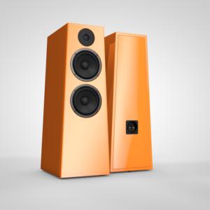 acoustic-system-slon-audio-series-parter-bg-white-color-ral-2003-pastel-orange-gallery