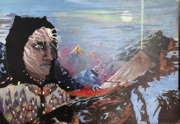 Картина Алхимик в горах часть 2