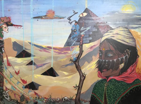 Картина Алхимик в пустыне