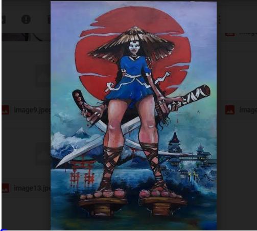 Картина Самурай